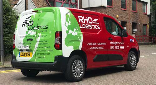 small van same day service