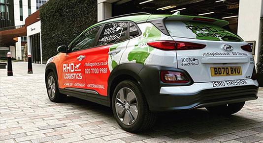 Hundred percent electric car