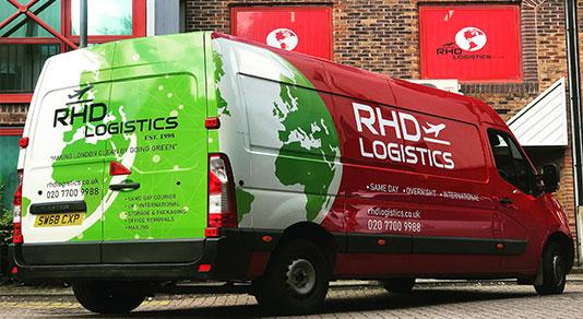 large van same day service